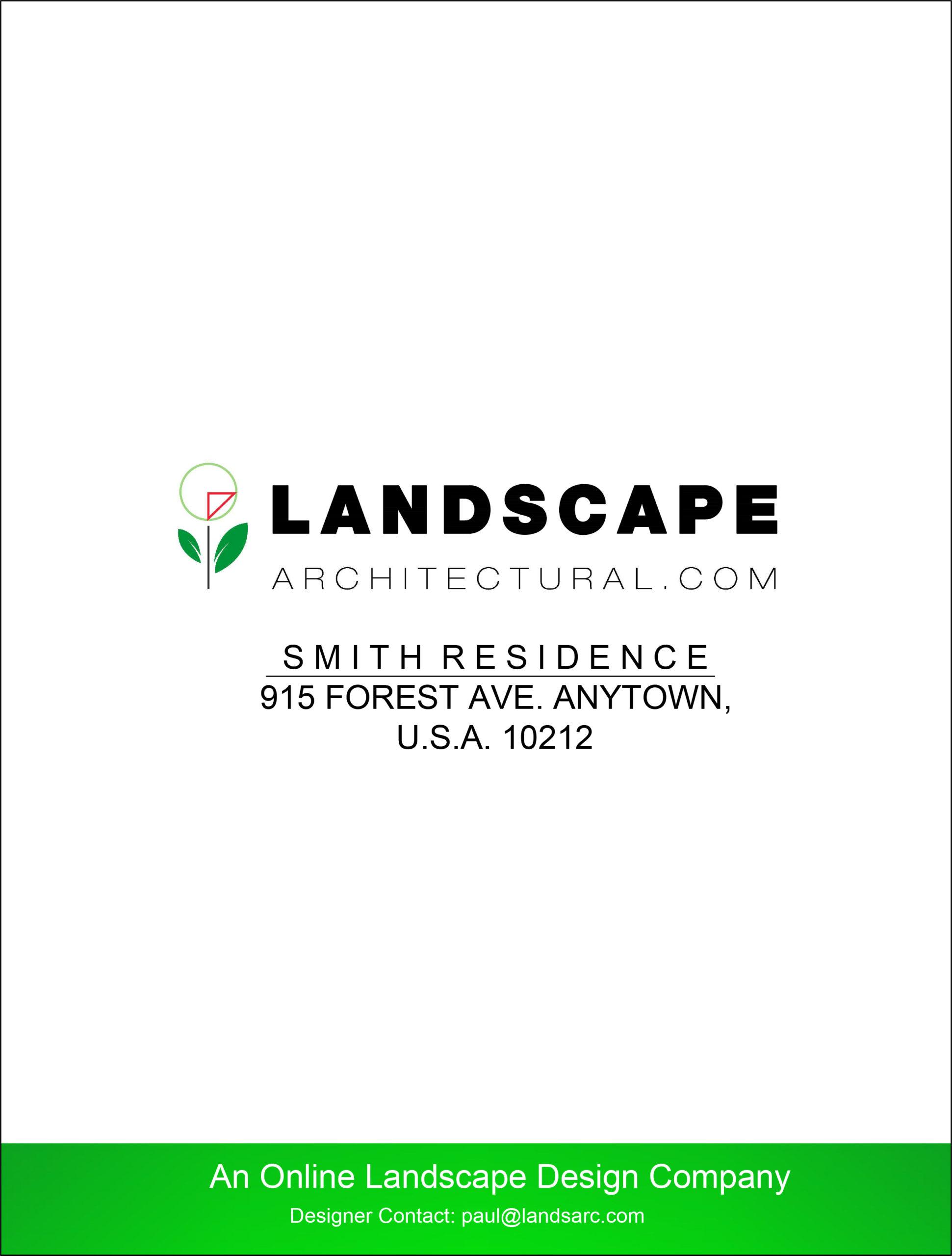 LandscapeArchitectural.com Cover Page