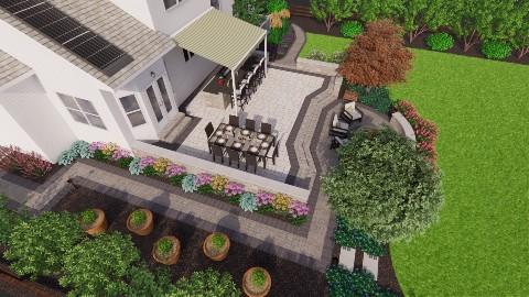 rear yard 3D plan april 2021